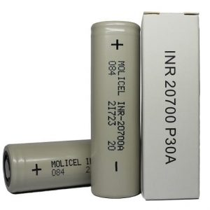 Molicel 20700 vape battery with box