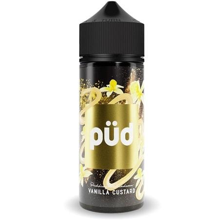 Vanilla Custard 120ml e-liquid bottle by PUD