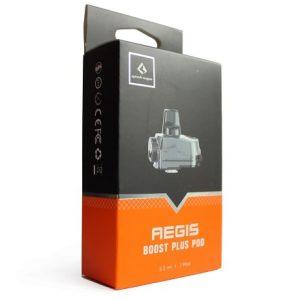 Package of Aegis Boost PLUS pod 5.5ml