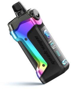 Aegis Boost Plus Pod system in rainbow colour