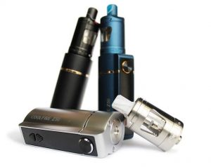 Innokin Coolfire Z50 starter kit with Zenith tank poster in all colours