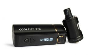 Coolfire Z50 Mod and Zenith Tank in detail