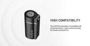 Innokin Coolfire Z50 Thread 510 Compatibility