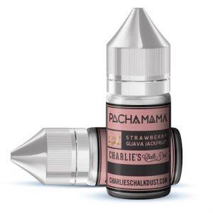 Pacha Mama Charlies Chalk Dust Strawberry Guava Jackfruit 30ml Vape Concentrate Bottles
