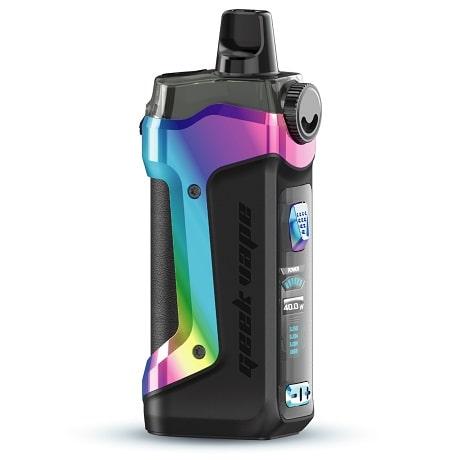 GeekVape Aegis Boost Plus Rainbow Aura Glow Colour Pod System