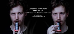 Autodraw and button fire function of pod system BP60