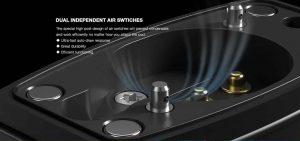 Airflow performance of Bp60 Aspire vape