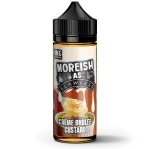Creme Brulee Custard 120ml Vape Juice by Moresih as Flawless