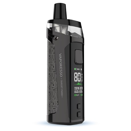 Vaporesso Target PM80 Pod Mod in Stainless Steel Silver Colour