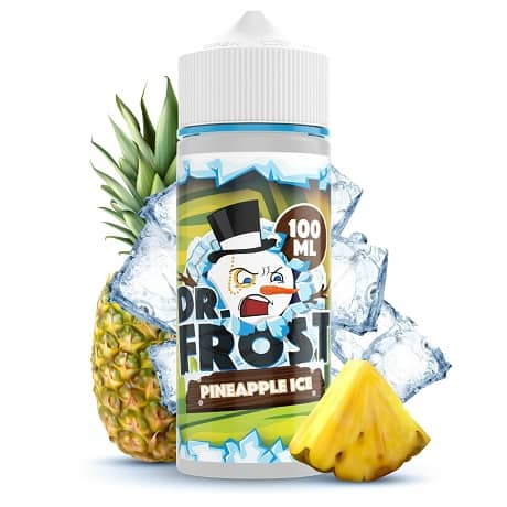 Pineapple Ice Vape Juice Bottle by Dr. Frost e-liquid with fruit and ice