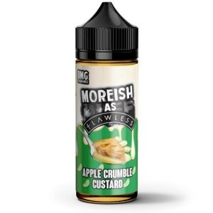 Apple Crumble Custard 120ml Vape Juice by Moreish As Flawless