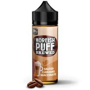 Salted Caramel Macchiato 120ml e-liquid by Moreish Puff