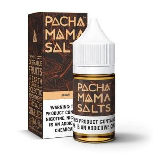 Pacha Mama Sorbet 10ml nicotine salt e-liquid bottle