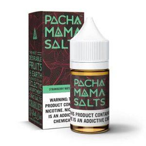 Pacha Mama Strawberry Watermelon 10ml nicotine salt e-liquid bottle