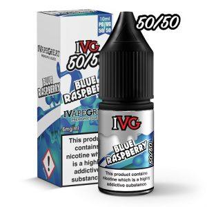 IVG Blue Raspberry 10ml e-liquid bottle