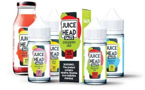 Juice Head nic salt poster
