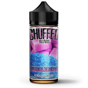 Chuffed Bubbleberg 120ml e-liquid bottle