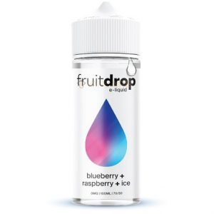 FruitDrop Blueberry Raspberry ICE 120ml e-liquid bottle