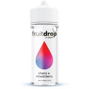 FruitDrop Cherry Mixed Berry 120ml e-liquid bottle