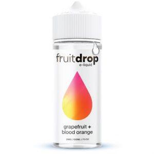 FruitDROP Grapefruit Blood Orange 120ml e-liquid bottle