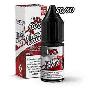 IVG Cherry Waves 10ml e-liquid bottle