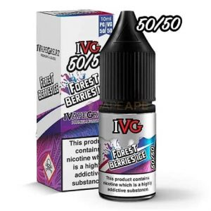 Forest Berries Ice 10ml Bottle by IVG E-Liquids