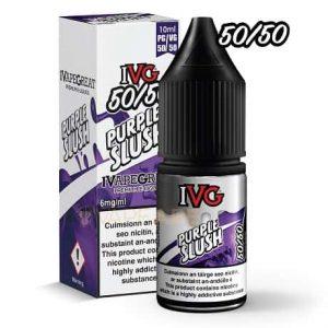 IVG Purple Slush 10ml e-liquid bottle