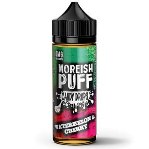 Watermelon Cherry Candt Drops Vape by Moreish Puff
