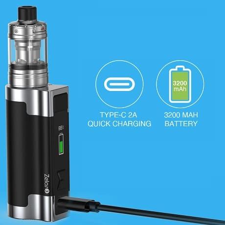 Zelos 3 Starter Kit charging battery