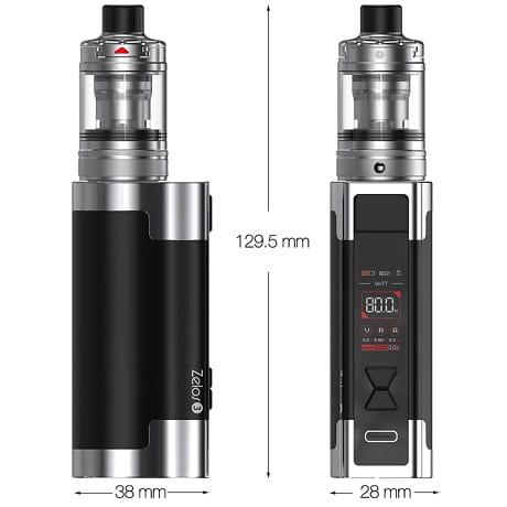 Aspire Zelos 3 E-cigarette kit dimensions