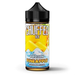 Frozen Pineapple 120ml Vape Juice by Chuffed E-liquid
