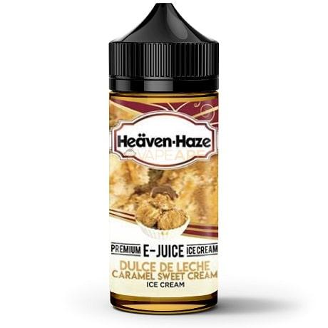 Heaven Haze Dulce De Leche Caramel 120ml Vape Juice Bottle