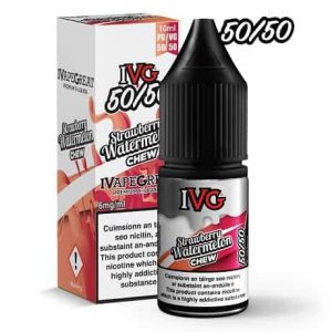 IVG Strawberry Watermelon 10ml e-liquid bottle