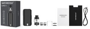 Vaporesso Luxe 2 e-cig kit package