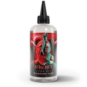 Strawberry Sauce 200ml e-liquid bottle by Berserker