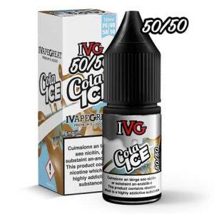 IVG Cola Ice 10ml e-liquid bottle