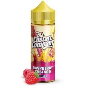 Raspberry Custard 120ml Vape Juice by The Custard Company
