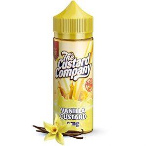 Vanilla Custard 120ml Vape Juice by The Custard Company