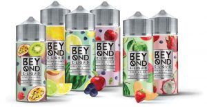 Beyond Eliquid poster with fruits