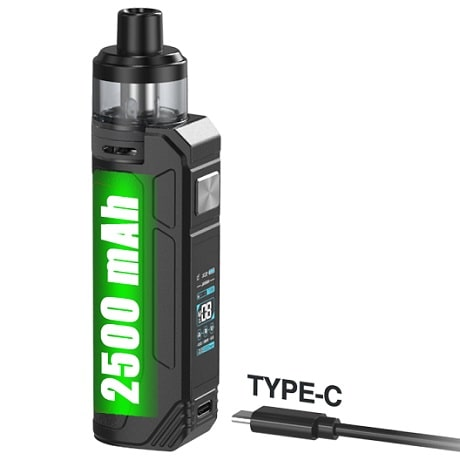 Aspire BP80 Pod Mod Vape kit battery and charging