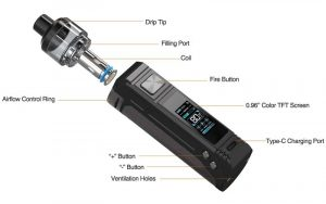 Aspire BP80 spare parts in detail