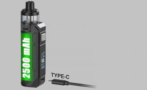 BP80 Vape Kit Battery and Charging