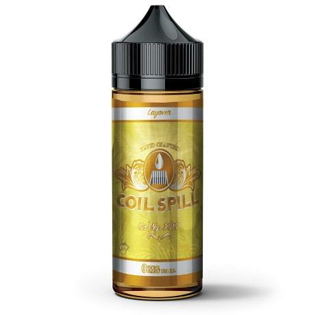 Coil Spill Layover 120ml Vape Juice Bottle