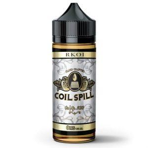 Coil Spill RKOI 120ml vape juice bottle