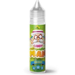 Candy Man Geeks Apple Candy Vape Juice Bottle