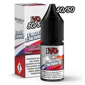 IVG Frozen Cherries 10ml e-liquid bottle